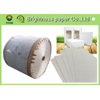 Best Coated Paperboard White Back Duplex Board Sheet / Roll 250gsm ~ 450gsm wholesale