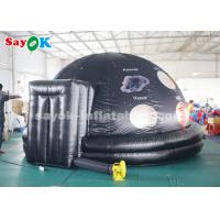 China Full Printing 4m Inflatable Planetarium Dome for School Astronomy Teaching on sale