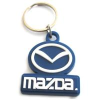 Best Brand logo customized silicone rubber keychain wholesale