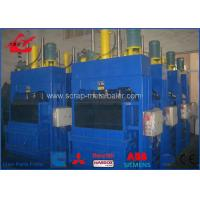 Best Cotton / PET Bottle Baling Machine With Plc Control System 100 Tons wholesale