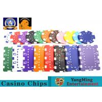 Best Oversized Rectangular Printable Plastic Ept Poker Chips 11.5g - 32g 3.3mm Thickness wholesale