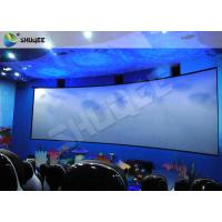 Best Animation 9D Movie Theater Stimulating 9D Cinema System With Curve Screen wholesale