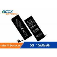 Best Brand new high quality li-polymer replacement internal battery for IPHONE 5S/5C with 3.8V 1560mAh wholesale