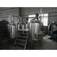 Best Full-Automatic Small Beer Brewing Equipment Commercial 100L - 5000L wholesale