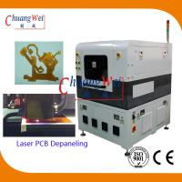Quality 355 nm US UV Laser PCB Cutter Machine with High Cutting Precision ±20 μm wholesale