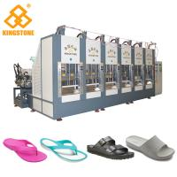 Best EVA Slipper Making Shoe Sole Making Machine With Full Production Line / 6 Stations wholesale