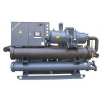 Best 35 Degree Low Temp Water Cooled Screw Chiller Temperature Controller 1 Year Warranty wholesale