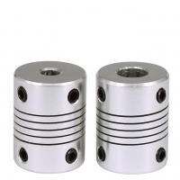 Best Aluminium Alloy Wound Elastic Coupling For 3D Printing 19mm*25mm wholesale