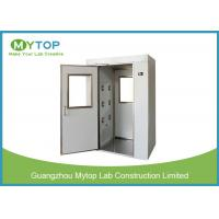 Best Cleanroom Stainless Steel Air Shower Fully Auto Controlled For Electronics Industry wholesale