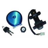 Buy cheap BAJAJ BOXER CT100 Lock Sets Smotorcycle Fuel Tank Cap ISO9000 Certificated from wholesalers