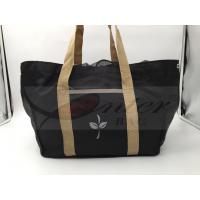 Best Black 420D Polyester Reusable Folding Shopping Bags For Supermarket Shopping wholesale