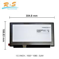 Buy cheap 13.3 Inch Auo LCD Panel 1920 * 1080 Slim FHD 330 Cd / M² Brightness from wholesalers
