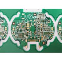 Best FR-4 HDI PCB Printed Circuit Boards 6 Layers Green Soldermask 1.6MM Board Thickness wholesale