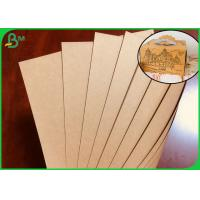 Best FSC Approved Brown Kraft Paper Roll For Making Cake Package Box wholesale