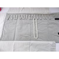 Best Soft Touching Roll Up Jewelry Organizer , Travel Jewelry Roll Bag For Exhibition wholesale