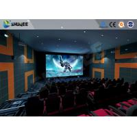 Best 5.1 Audio System 4D Big Movie Theater With Red Standard Chair wholesale