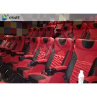 Best High Definition 4D Cinema System With Safety Motion Chair 3D Stereo Movie wholesale