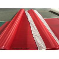 Best Red / White Paper Machine Clothing Polyester Screen Mesh Insert Seam Type wholesale