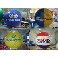 Best 2.5m Thickness PVC Large Inflatable Balloons Fire Resistance For Outdoor Decorations wholesale