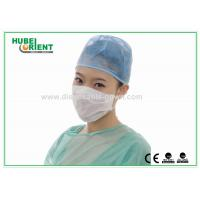 Best Medical White Paper Non Woven Disposable Face Mask 1 Ply 7 X 20cm wholesale