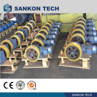 Best ISO9001 CE Autoclave Equipment Inclined Pulley With Friction wholesale