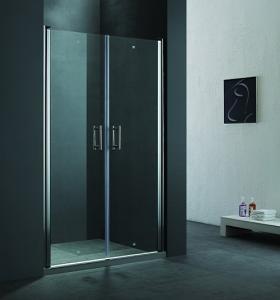 China 6mm pivot shower door on sale