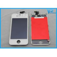 Cheap IPS Iphone LCD Screen Digitizer Assembly With White / Black Color for sale