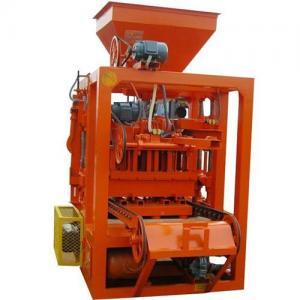 China QT4-24 cement block machine/hollow block making machine/manual concrete block machine on sale