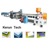 Best Plastics Extrusion Machinery / PVC Foam Board Making Machine for Faux Marble wholesale