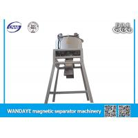 Best Siliver Magnetic Iron Ore Separator With Machanical Vibrating Equipment wholesale