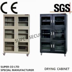 China Energy Saving 1436L Moisture Proof N2 Nitrogen Dry Box Lab gas Cabinet with 4 Windows on sale