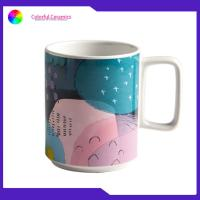 Best Stoneware Printed Promotional Ceramic Travel Mug Tea Cups 420ML EEC Approval wholesale