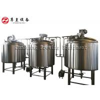 Best Beverage Factory Automated Beer Brewing System , 1000L 8BBL Microbrewery Equipment wholesale