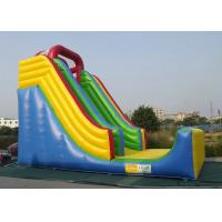 Best Commercial Inflatable Outdoor Toys Durable PVC Tarpaulin For Bouncer Sliding wholesale