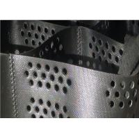 Best 1.5mm thickness Black Color Hdpe Geocell, Geomesh for road construction wholesale