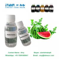 Buy cheap Fruit Concentrated Liquid Flavor/ Watermelon Flavor used for nicotine E Liquid from wholesalers