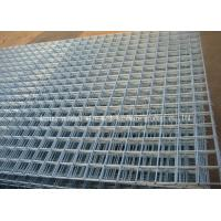Best Professional 6 Gauge Welded Wire Panels , Stainless Steel Wire Fence Panels wholesale