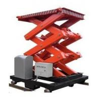 Quality Hotel Exhibition Hall elevating hydraulic scissor lifts with Extension Platform wholesale
