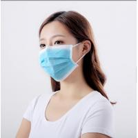 Best 3 Layer Filtration Medical Disposable Masks , Non Woven Protective Mouth Mask wholesale