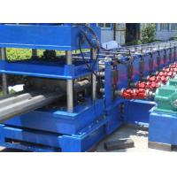 Best 3 Waves 45 Kw Profile Steel Roll Forming Machine For Expressway Guard Bars wholesale