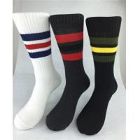 Best White Quick Dry Thin Cotton Socks , Slip Resistant Elastane Cotton Rich Socks wholesale