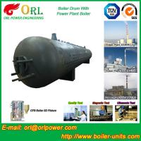 Metallurgical Industry Mud Drum Fire Tube For Condensing Gas Boiler