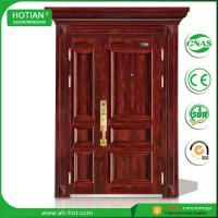 Best Made In China CE High Quality Swing Security Steel Door Popular for Hotel, Apartment, Villa Entrance Doors wholesale