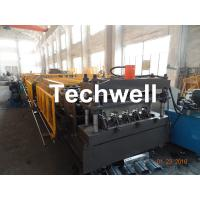 Best Welding Wall Plate Machine Frame Structural Metal Deck Forming Machine With Chain Transmission wholesale