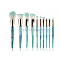 Best 10pcs  Soft Synthetic Hair Mass Level Makeup Brushes Globle - Look wholesale
