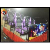 Best 9 Seats 5D Movie Theater , 5D Cinema Equipment with Hydraulic Chair wholesale