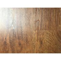 Best anti-corrosion wood grain uv coating embossed PVC vinyl flooring planks wholesale