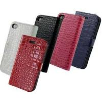 China Stylish  Crocodile Leather Case Pouch Case Cover  Pouch  iphone 4 leather on sale