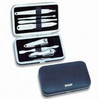 Best Stainless Steel Manicure Set, OEM Orders are Welcome, Ideal for Travelling and Promotional Gifts wholesale