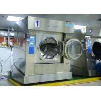 China Europe Standard Commercial Grade Washer And Dryer , Front Loading Industrial Laundry Machine on sale